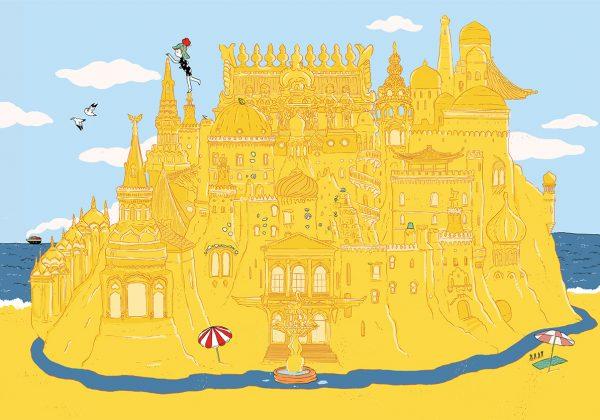 לבנות ארמון בחול